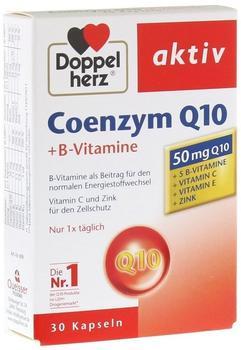 Doppelherz Coenzym Q10 + B Vitamine Kapseln 30 St.