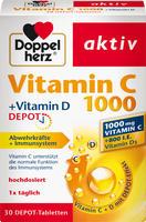 Doppelherz aktiv Vitamin C 1000+vitamin D Depot 30 stk