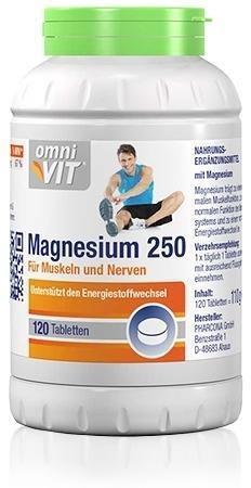 Omnivit Magnesium 250 120St