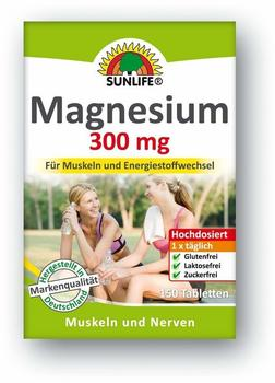 Sunlife Magnesium 300mg Tabletten 150St.