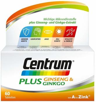 Centrum Plus Ginseng & Ginkgo Tabletten 60 St