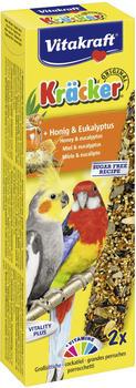 Vitakraft Kräcker Original + Honig & Eukalyptus für Großsittiche