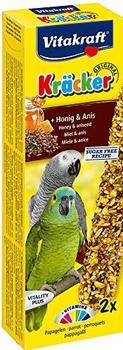 Vitakraft Kräcker Original + Honig & Anis für Papageien
