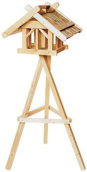 Siena Garden Vogelhaus Nr. 45 mit Dreibeinständer und Silo 50x54x39cm