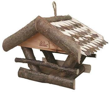 Globus Vogelhaus mit Schindeldach