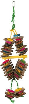 Trixie Holzspielzeug am Sisalseil bunt (58992)
