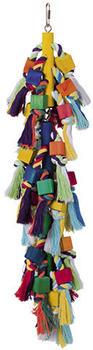 Nobby Vogelspielzeug Holzblöcke mit Baumwolle (31684)