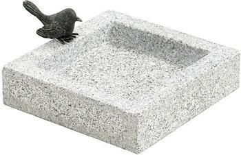 Dehner Granit-Vogeltränke 25x25x10cm