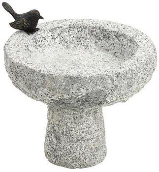 Dehner Granit-Vogeltränke 30x30x30cm