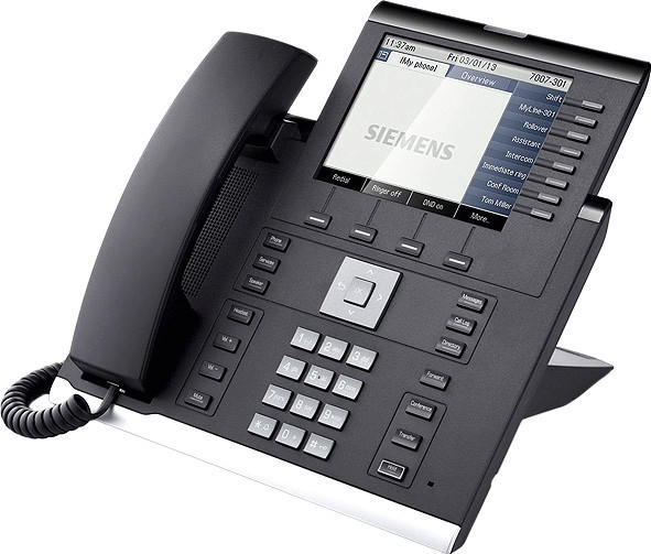 Unify OpenScape Desk Phone IP 55G HFA Icon schwarz
