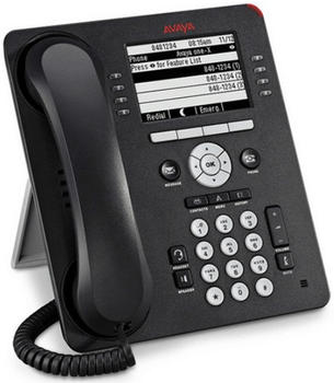 Avaya 700504844 9608G Gry Telefon schwarz