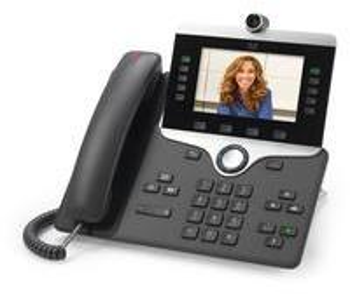 Cisco 8845 IP-Telefon Schwarz Kabelgebundenes Mobilteil LCD