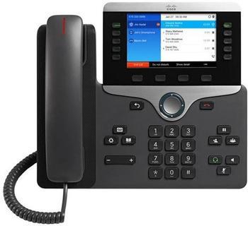 Cisco IP Phone 8851 VoIP-Telefon schwarz