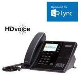 Polycom Poly CCX 500 IP-Telefon Schwarz LCD