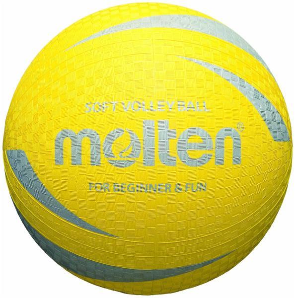 Molten Soft-Volleyball gelb