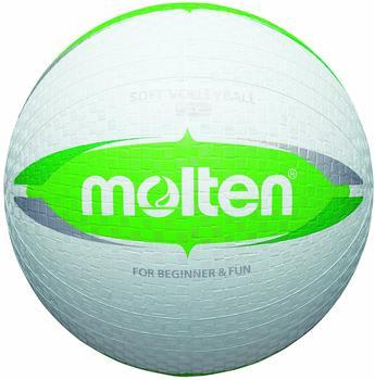 Molten Softball Volleyball Weiß/Grün