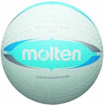 Molten Softball Volleyball Weiß/Blau