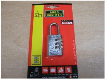 Burg Wächter Combi Lock 90 30 Chromo SB