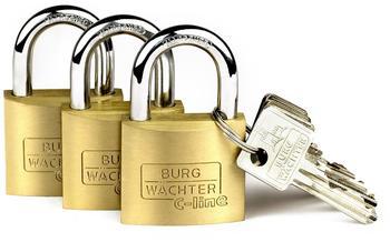 Burg Wächter Trio 222 40 SB Schloss-Set