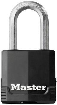 Master Lock Heavy Duty Padlock [Key] [Covered Laminated Steel]