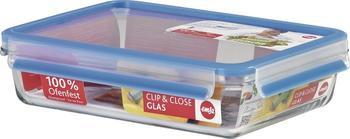 Emsa Clip & Close Frischhaltedose, rechteckig (2 Ltr.)