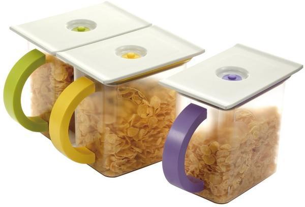 Stoneline Vacuum Vorratsdosen 1,5l 4er-Set