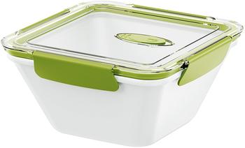 Emsa BENTO BOX, Lunchbox 1,5 l weiß/grün