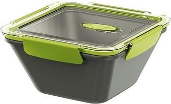 Emsa BENTO BOX, Lunchbox 1,5 l grau/grün