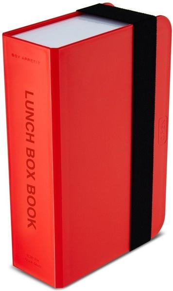 Black+Blum Lunch Box Buch lime rot