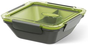 Emsa BENTO BOX, Lunchbox 0,9 l grau/grün