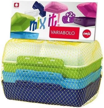 Emsa Variabolo Lunchbox 2er Set Boys 4-teilig