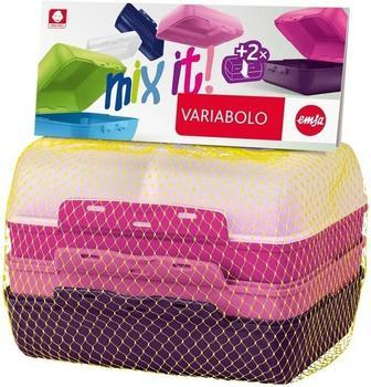 Emsa Variabolo Lunchbox 2er Set Girls 4-teilig