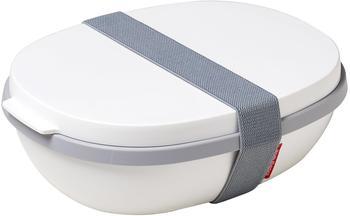 Rosti Mepal Lunchbox To Go Ellipse Duo weiß