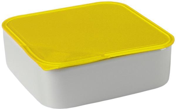 Arzberg Frischebox 0,9 L 18x18 flach gelb