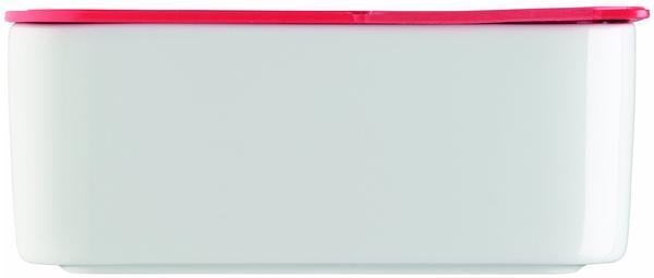 Arzberg Frischebox 0,9 L 18x18 flach rot