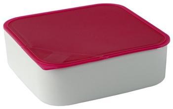 Arzberg Frischebox 0,9 L 18x18 flach pink