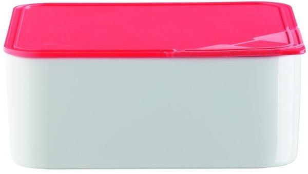 Arzberg Frischebox 0,6 L 15x15 flach rot