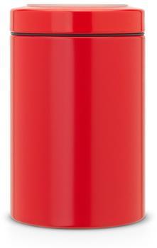 Brabantia Vorratsdose rund 1,4 Ltr. Feuer Rot