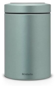 Brabantia Vorratsdose rund 1,4 Ltr. Metallic Mint