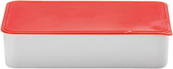 Arzberg Frischebox 1,2 L 15x25 flach rot