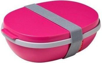 Rosti Mepal Lunchbox To Go Ellipse Duo pink