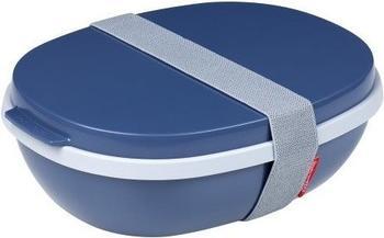 Rosti Mepal Lunchbox To Go Ellipse Duo nordic denim blau
