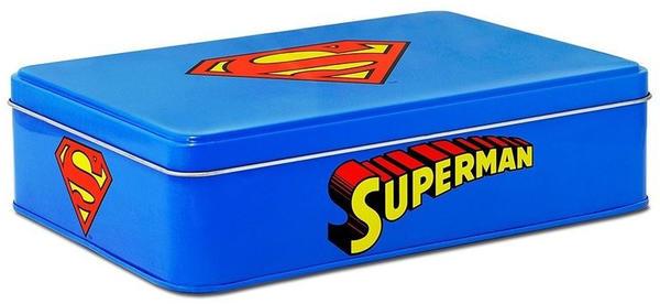 Logoshirt Superman-Logo Metalldose Vorratsdose