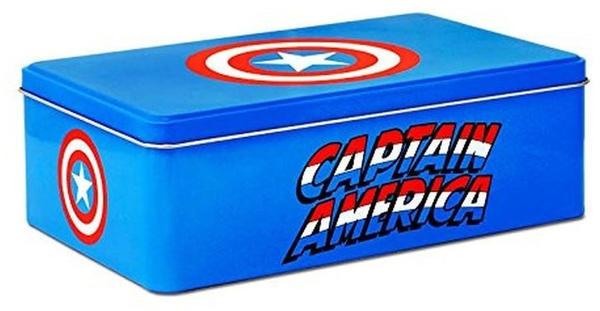Logoshirt Captain America Metalldose Vorratsdose Marvel Comics