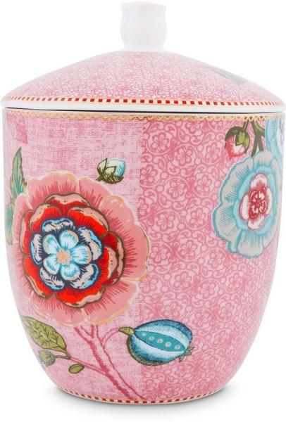 PiP Studio Vorratsdose 1200 ml Spring to Life pink