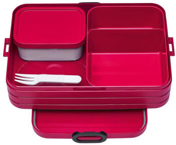 Rosti Mepal Bento Take a Break Lunchbox large Nordic Red