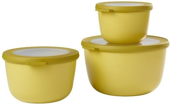 Rosti Mepal Cirqula Set 3-teilig Nordic Lemon
