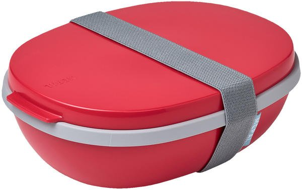 Rosti Mepal Lunchbox To Go Ellipse Duo nordic red