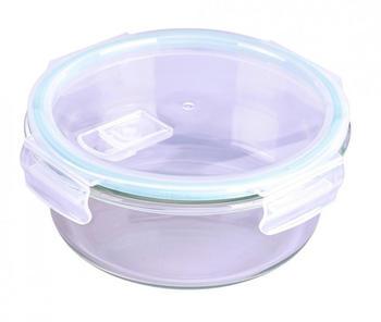 Steuber Cloc Frischhaltedose aus Glas rund 650 ml
