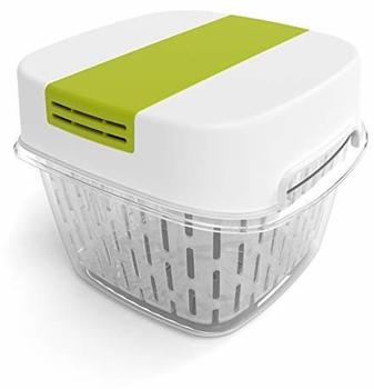 rotho-fresh-dynamic-box-frischhaltedose-klein-mit-lueftung-kunststoff-sanpp-weiss-gruen-1-6-liter-15-5-x-15-5-x-12-3-cm